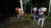 banser tanggap bencana bawa logistik untuk korban gempa sulbar