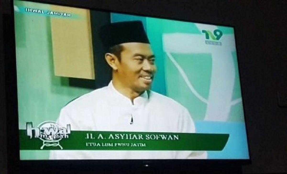 Ketua LBM NU Jatim KH Ahmad Asyhar Shafwan