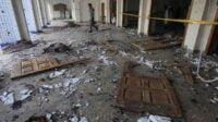 Masjid di Afghanistan hancur dihantam bom