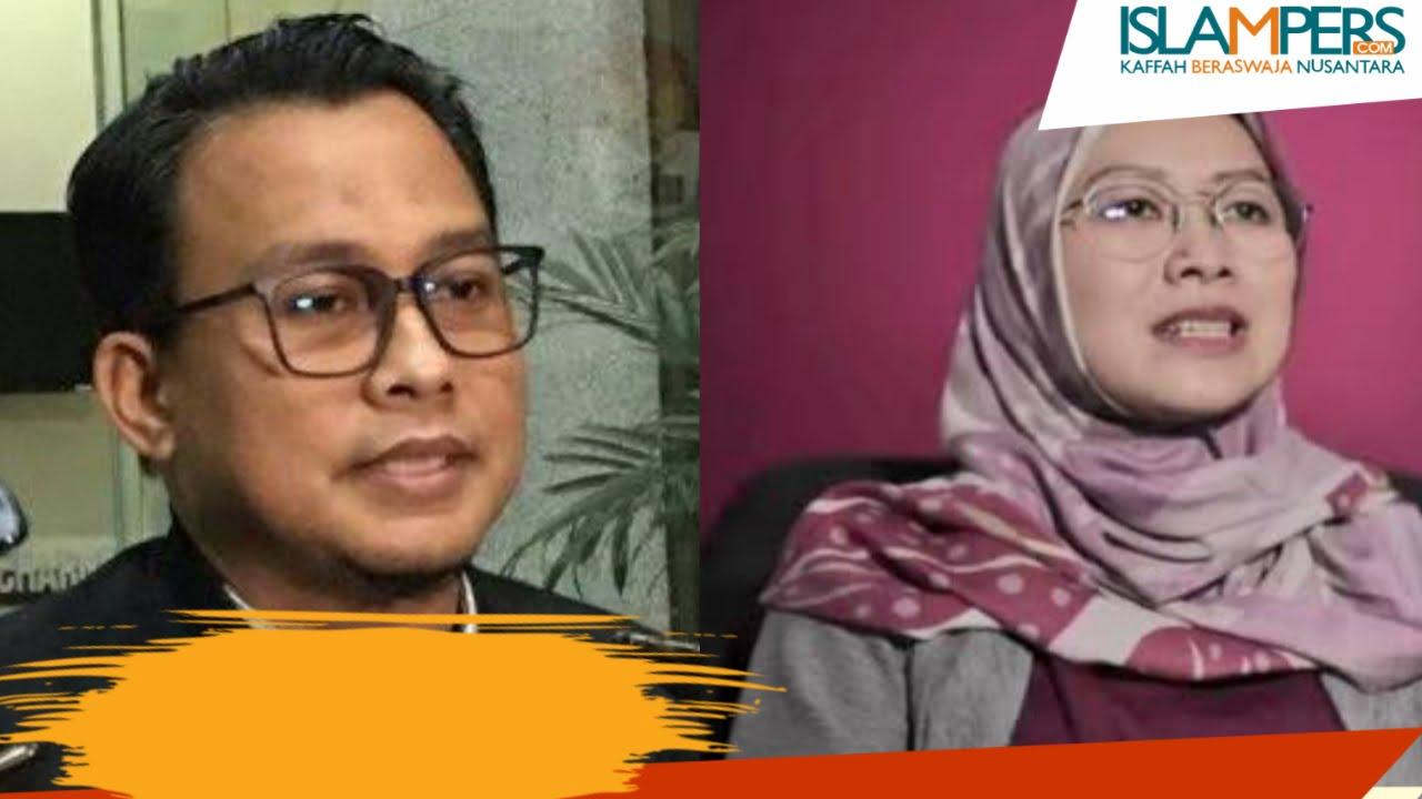 Ali Fikri Jubir KPK dan Tata Khoiriyah Mantan KPK